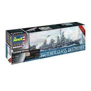 MAQUETTE DE BATEAU Maquette Bateau : Fletcher Class Destroyer aille U