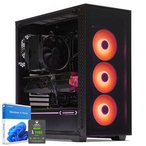 UNITÉ CENTRALE  PC Gamer, AMD Ryzen 7, RTX 2070, 250Go SSD NVMe M.
