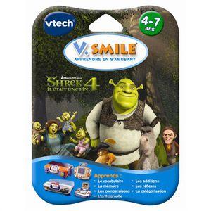 JEU CONSOLE ÉDUCATIVE Jeu VSmile Shrek 4