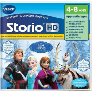 JEU CONSOLE ÉDUCATIVE VTECH - Jeu pour Tablette HD Éducatif Storio - La