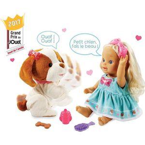 POUPÉE VTECH Poupée Little Love - Lou Joue Avec Son Touto