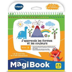 CONSOLE ÉDUCATIVE VTECH - Livre Interactif Magibook - J'Apprends Les