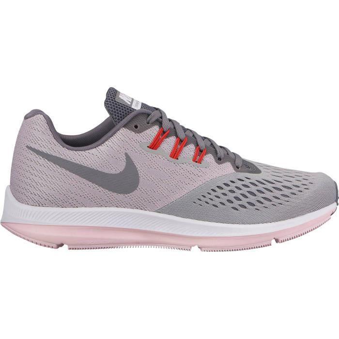 NIKE Chaussures de running Air Zoom Winflo Femme Gris