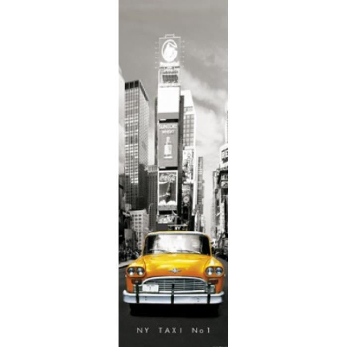 New york papier peint photo poster taxi no 1 achat for Decoration murale geante new york