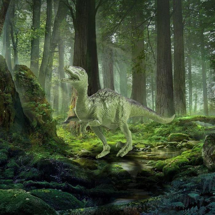 Modèle éducatif de dinosaure Allosaurus simulé pour enfants cadeau de jouet pour enfants WHAS824