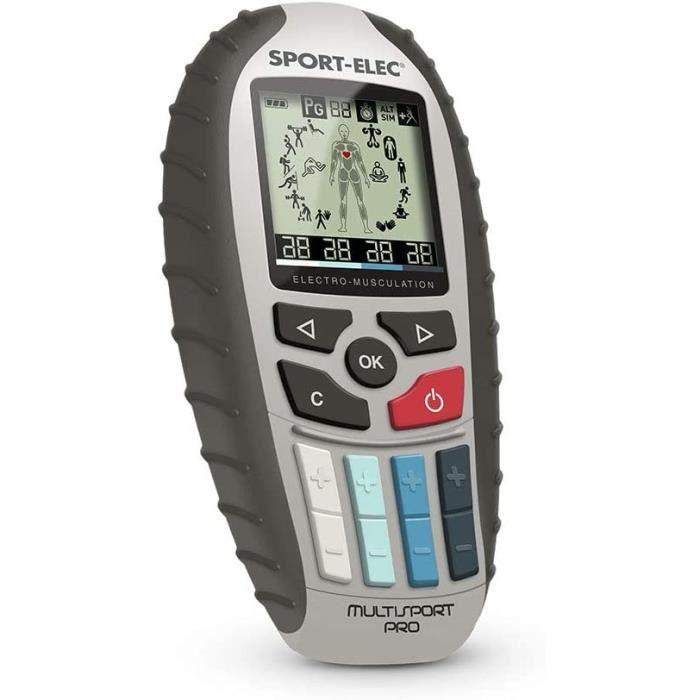 Sport-Elec - Multisport Pro Pr eacutecision - Electrostimulateur musculaire mixte