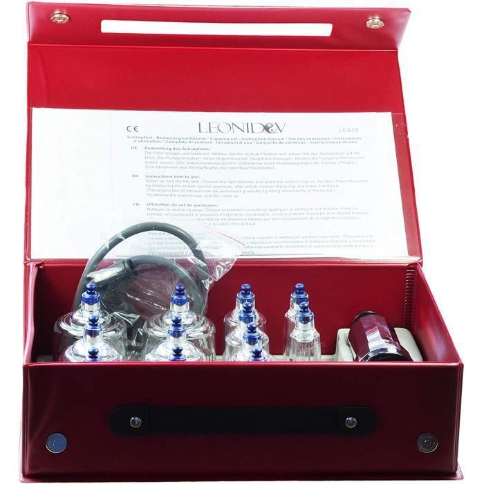 Accessoires de massage manuel Set de ventouses Leonidov 12 pcs. 955219