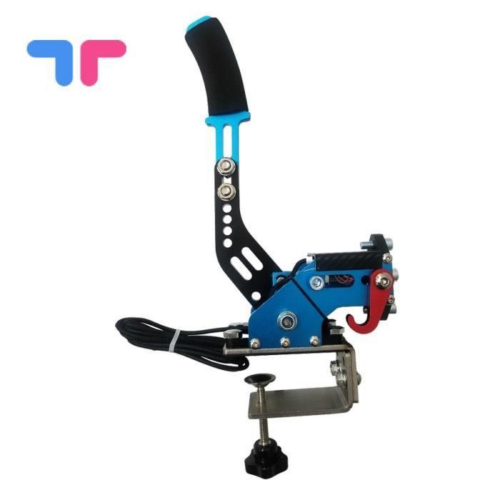Pièces Auto,Fanatec Osw Dirt rallye bleu système de frein à main 14bit Hall capteur USB SIM pour jeux - Type blue2Table top fixin #B