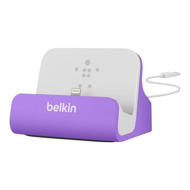 BELKIN Station d'accueil - iPhone 5 & iPod Touch 5G - Violet