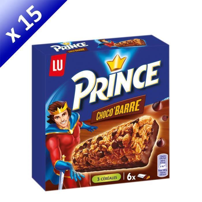 [LOT DE 15] Prince Choco Barre 125g