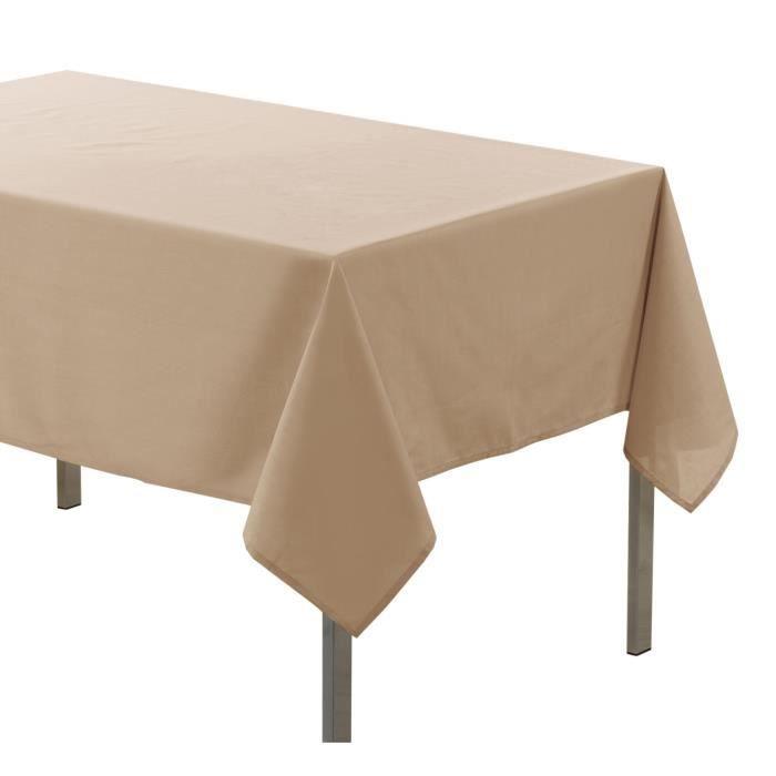 Douceur d'Intérieur Essentiel Nappe Rectangulaire Polyester Lin 140 x 200 cm