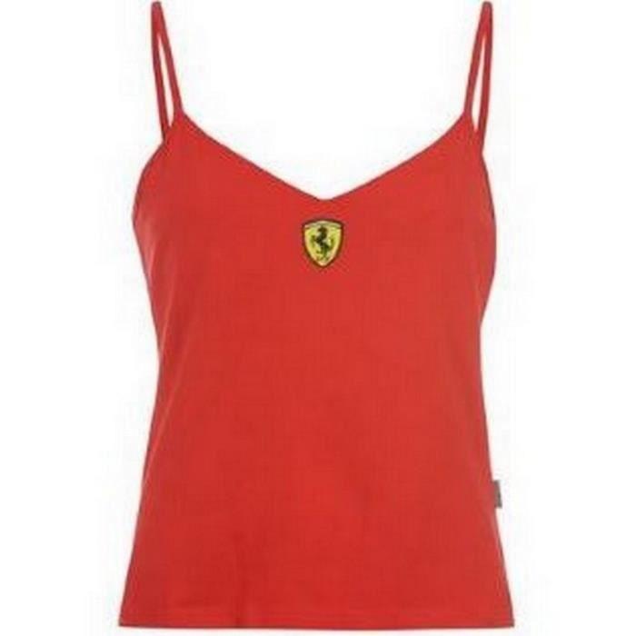 Débardeur Femme Ferrari Official Product Taille L