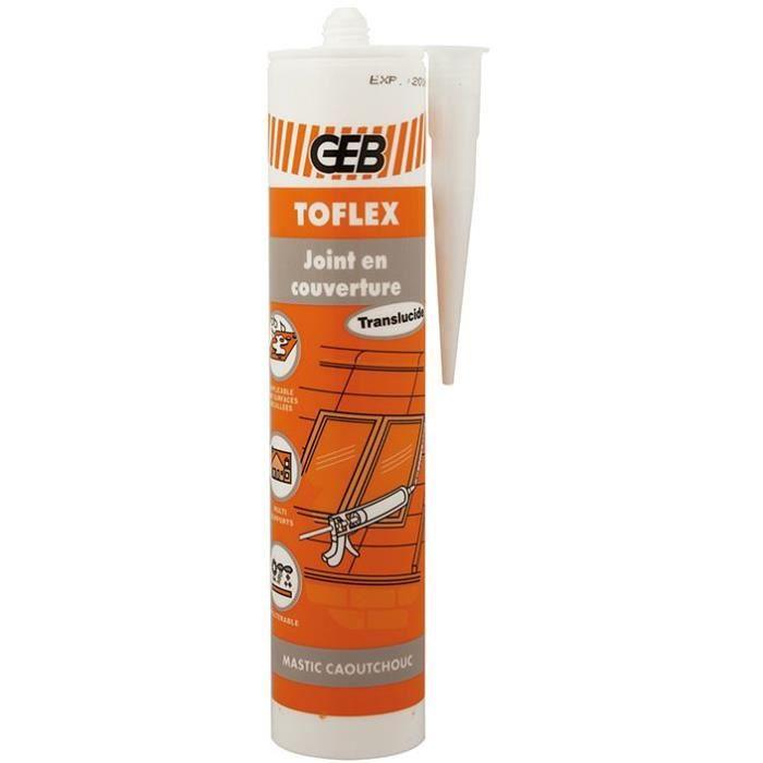 Toflex mastic joints en couverture cartouche 310ml