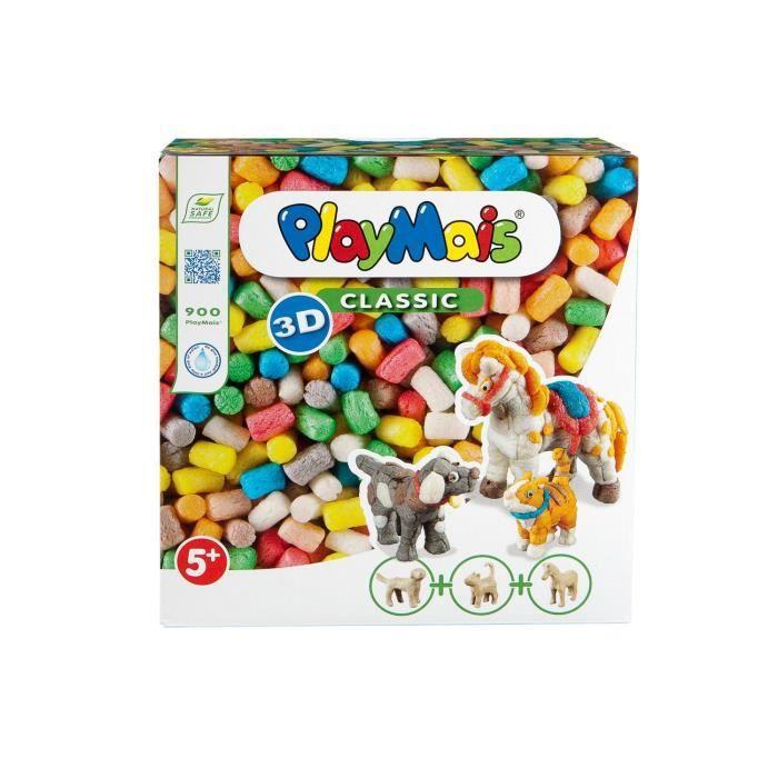 PLAYMAIS Boîte classic 3D animaux domestique