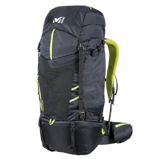Millet UBIC 60+10 noir, sac à dos voyage et trekking.