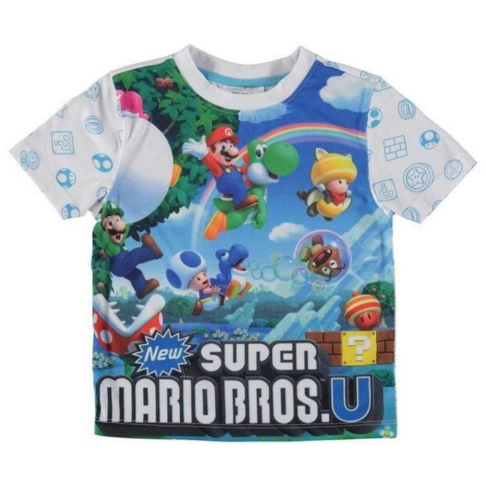 Tee-shirt Enfant Nintendo Super Mario