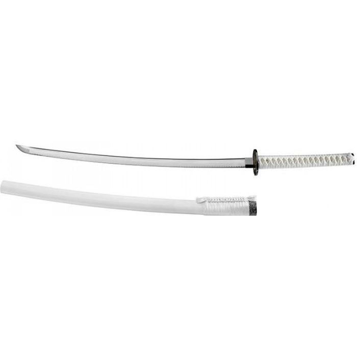 esthetique coutellerie lames fixes katana boker magnum - 05zs642 - boker magnum - white samurai