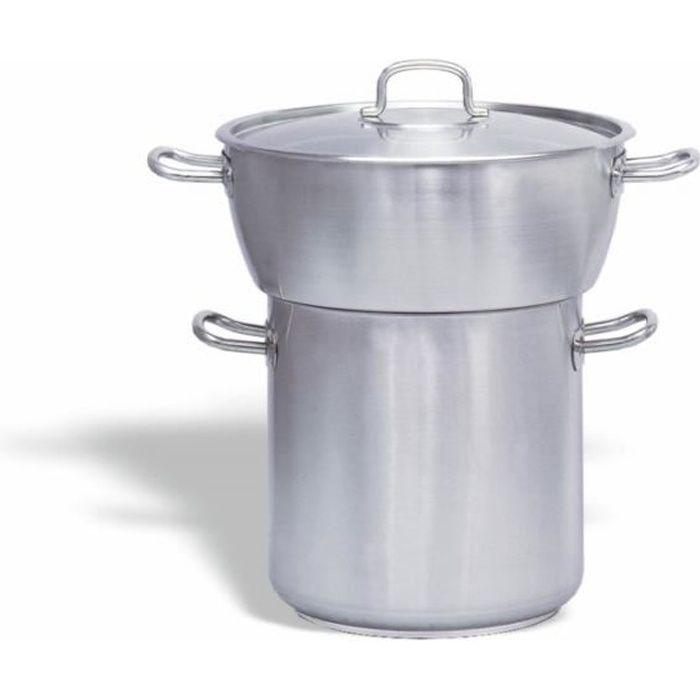 Couscoussier Inox Bombé 50 litres - Pujadas - - P240.050