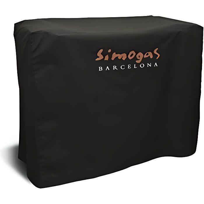 SIMOGAS Housse pour plancha Rainbow avec chariot en PVC et polyester