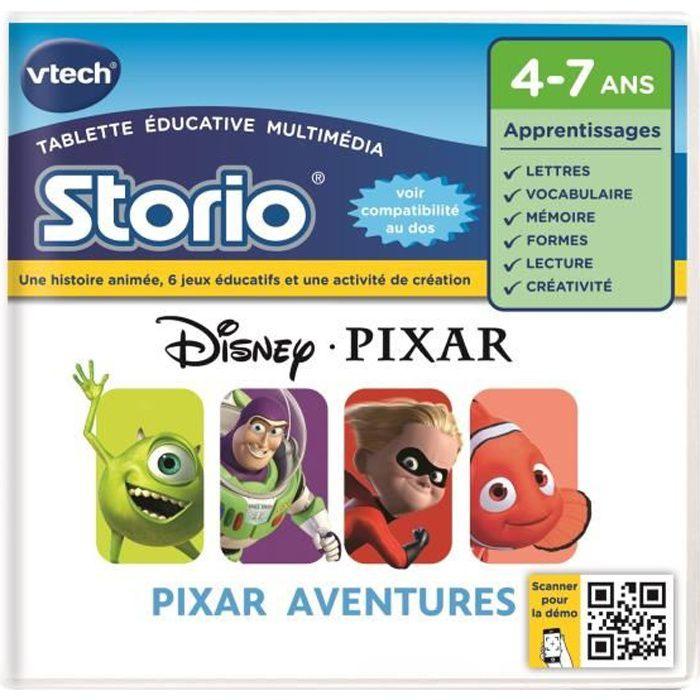 VTECH Jeu Educatif Storio Pixar Aventures