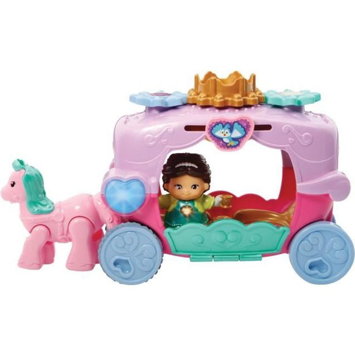 TUT TUT COPAINS Le Carrosse Enchanté + Jade la Princesse en Balade