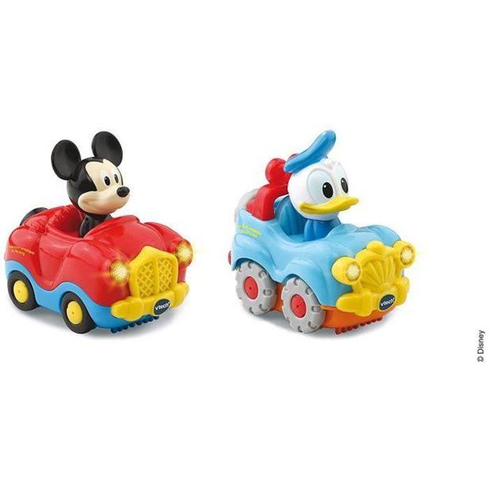 VTECH - Tut Tut Bolides Mickey - Coffret Duo - Cabriolet de Mickey