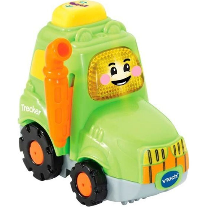 VTECH Tut Tut Bolides Clément tracteur des champs vert 1-5 ans jouet jeux véhicule tracteur