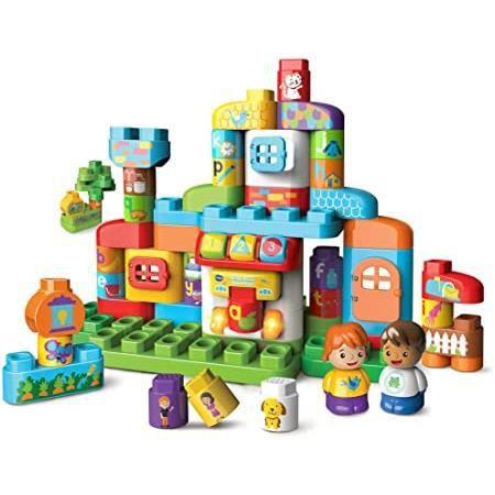blocks Jeux de construction - ma maison alphabet interactive, maison pour enfant – version fr