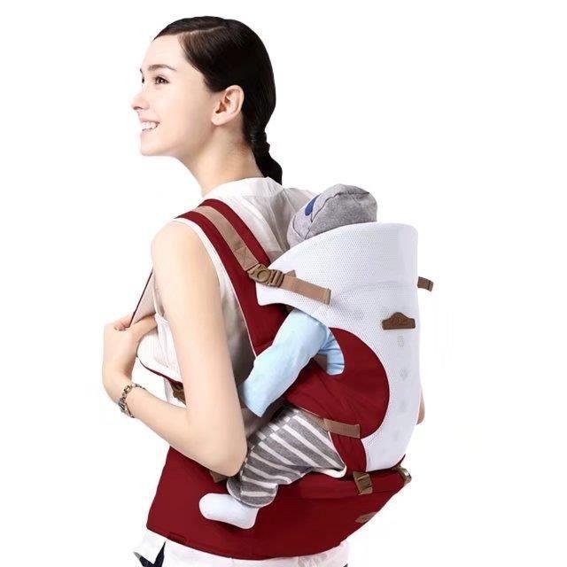 Baby Carrier Sling Sac à dos réglable Nouveau-né Allaitement bébé Bjorn