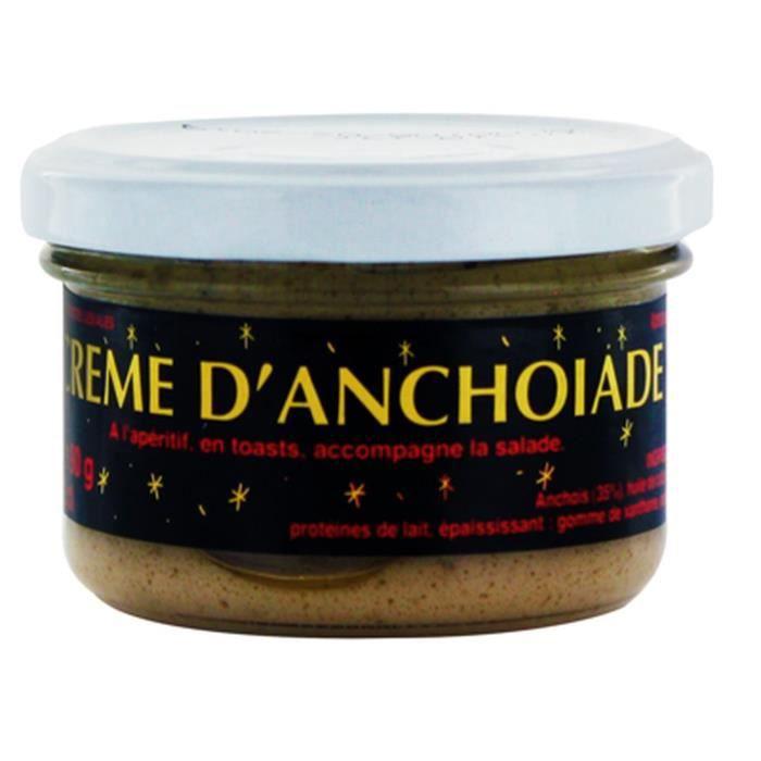 PRODUIT ANCHOIS Crème d'anchoïade - pot 90g