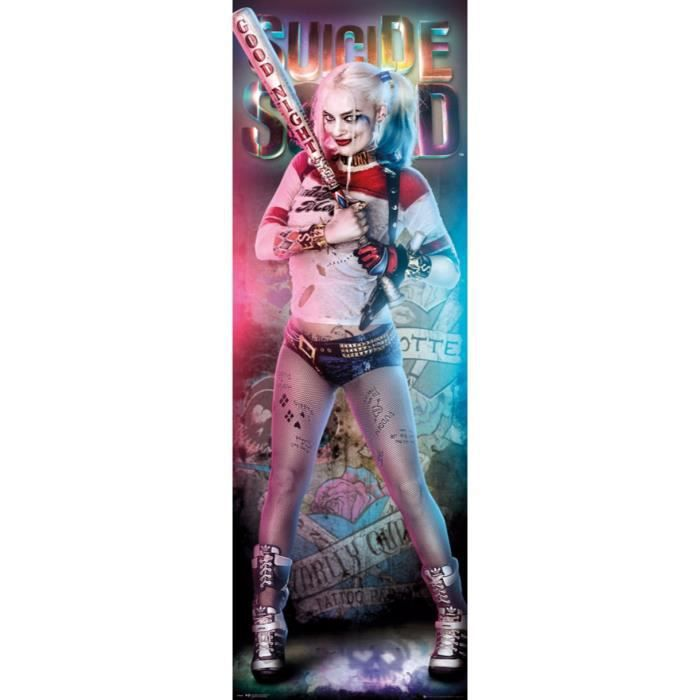 poster harley quinn achat vente poster harley quinn. Black Bedroom Furniture Sets. Home Design Ideas
