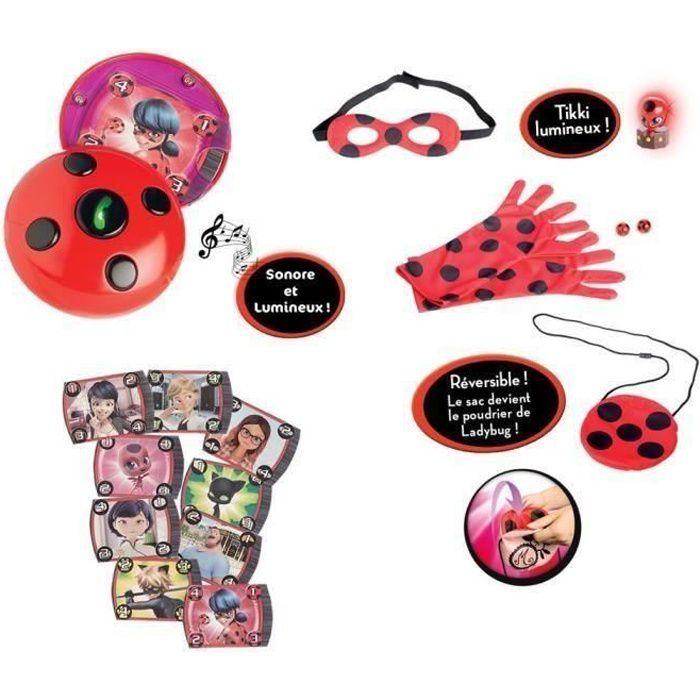 FIGURINE - PERSONNAGE MIRACULOUS - Multipack Deviens Marinette & Ladybug