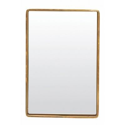 Miroir rectangulaire reflection bord laiton house doctor for Miroir achat
