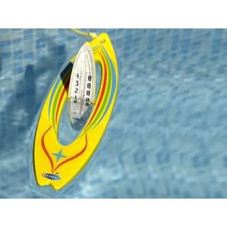 Thermom tre flottant surf 27cm achat vente thermom tre for Thermometre piscine connecte