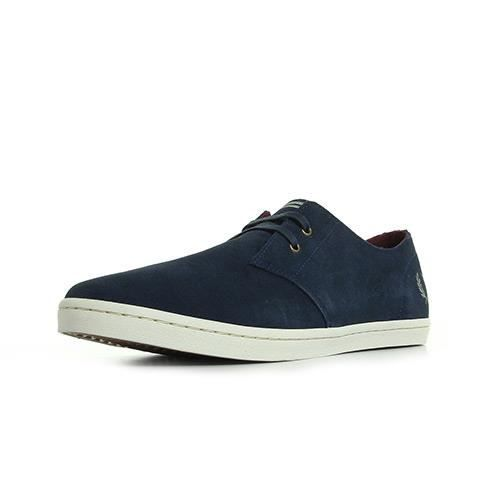 Fred Perry Byron Low Suede Carbon rwGb1sujeW