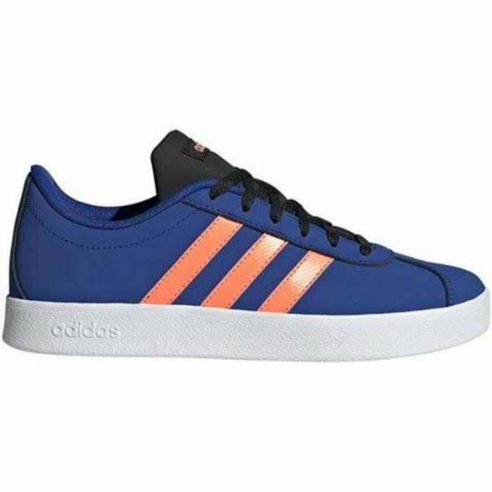 Chaussure adidas VL Court 2.0 K Bleu Pour Enfant