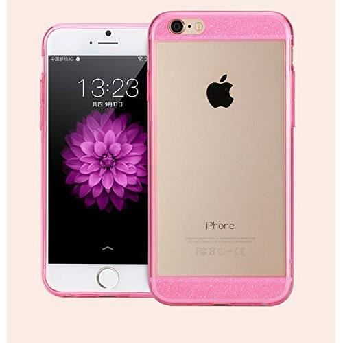 coque pliable iphone 6 paillette