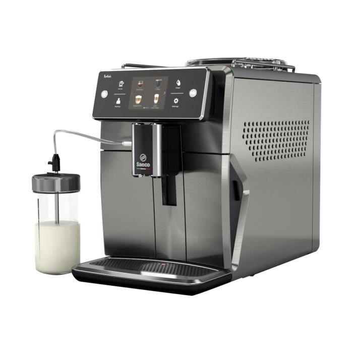 MACHINE À CAFÉ Saeco Xelsis SM7686 Machine à café automatique ave