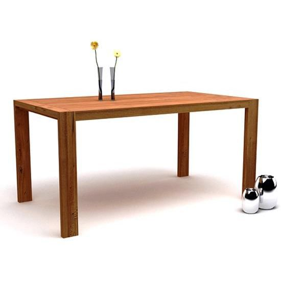 Table manger rectangulaire en teck recycl 22 achat for Table a manger en teck
