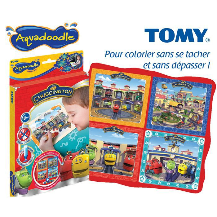 Mini aquadoodle chuggington achat vente figurine - Chuggington dessin anime ...
