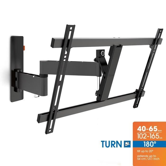 vogel s wall 2345 support tv mural orientable 40 224 fixation support tv avis et prix pas