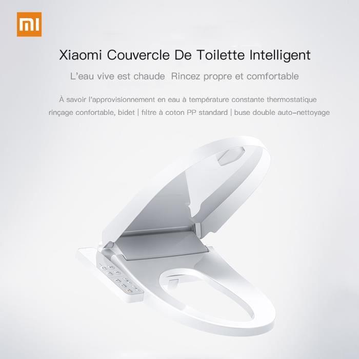ABATTANT WC Xiaomi couvercle de toilette intelligent Allongé U