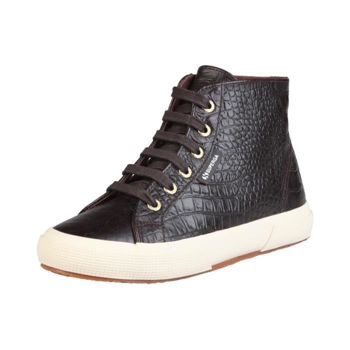Superga - Baskets pour unisexe (S008HM0_2095_K51_DARKCHOCOLATE) - Brun