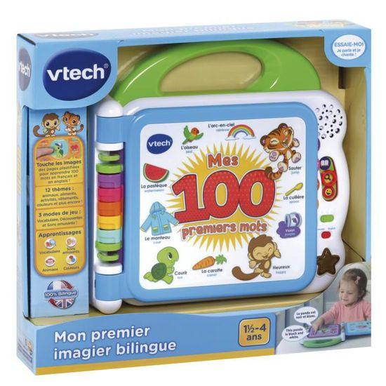 Vtech Baby Mon Premier Imagier Bilingue Livre Interactif