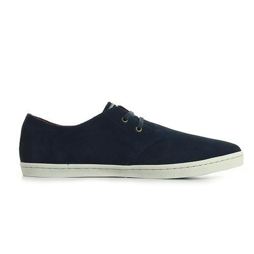 Fred Perry Byron Low Suede Carbon
