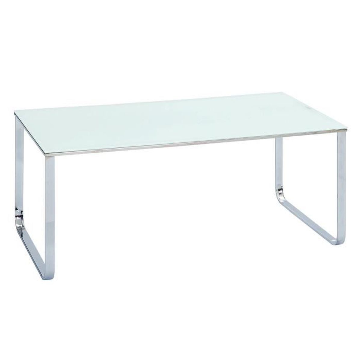 samira table basse rectangulaire blanche achat vente table basse samira table basse. Black Bedroom Furniture Sets. Home Design Ideas