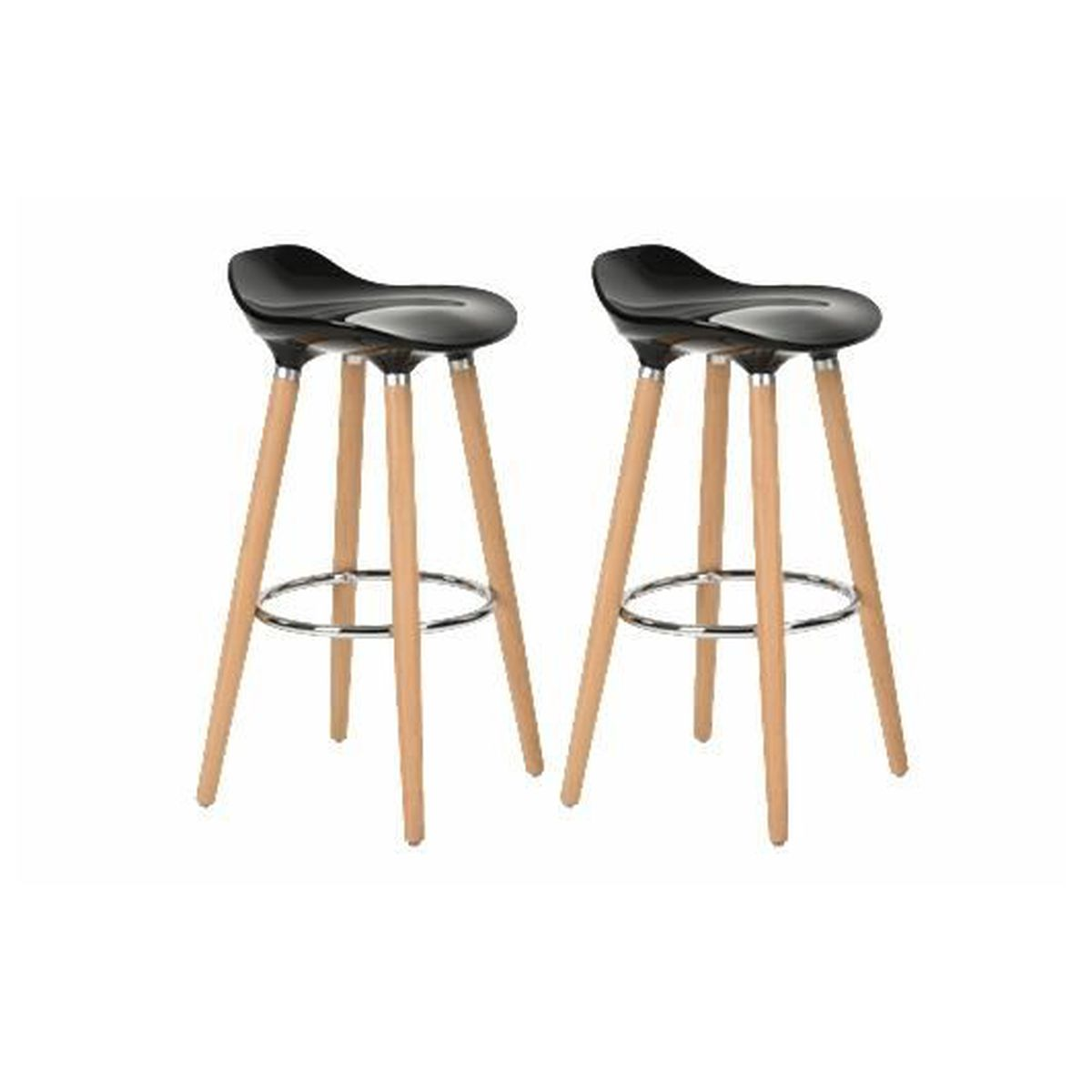 tabouret de bar noir achat vente tabouret de bar noir pas cher cdiscount. Black Bedroom Furniture Sets. Home Design Ideas
