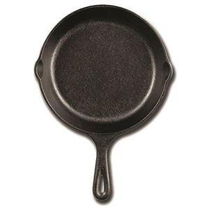 POÊLE - SAUTEUSE Lodge Mini poêle à frire Ronde Fonte traitement th