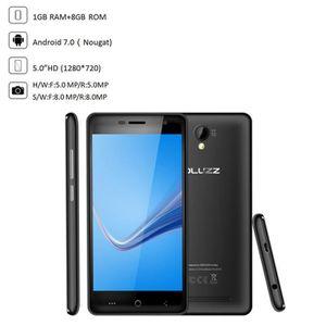 Téléphone portable Téléphone portable PLUZZ 4,0 pouces Dual HD Quad A