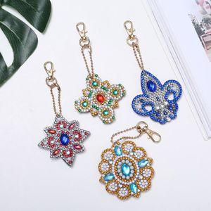 PORTE-CLÉS DIY Forme spéciale Full Diamond motif diamant port